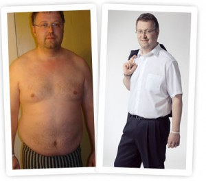Abnehmerfolg mit Bod-e von Vemma. Kurt Fink verlor in 12 Wochen auf gesunde Weise 27kg