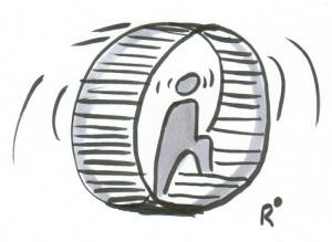 Fühlen Sie sich auch oft wie in einem Hamsterrad gefangen?