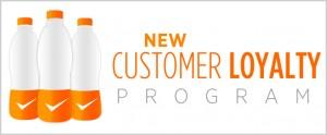 Customer Loyality-Programm - Bring 3 trink frei